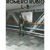 Guardia Nacional vigila estaciones del Metro de la CDMX
