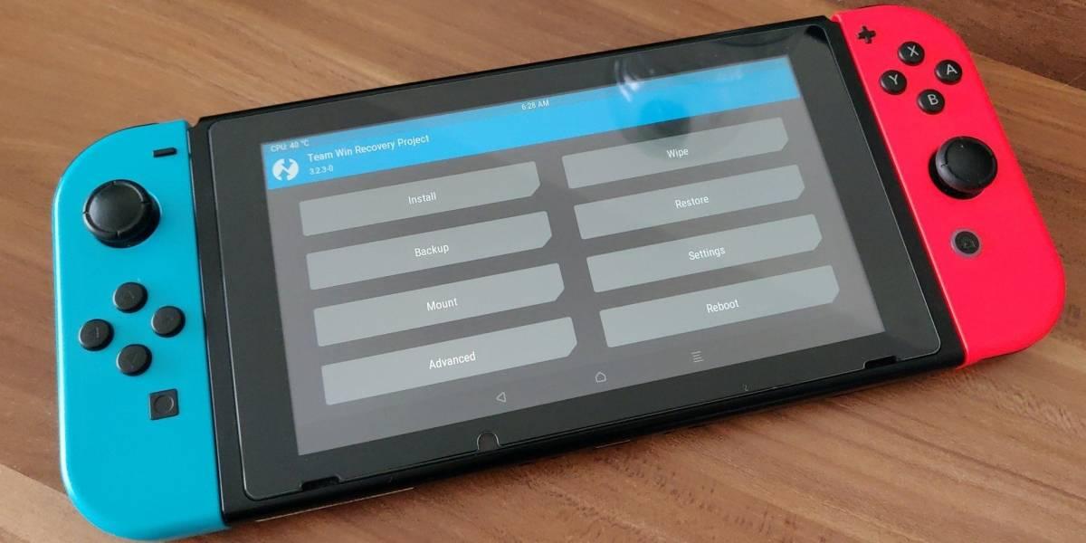 Android en la Nintendo Switch: el port está listo y es muy sencillo de instalar