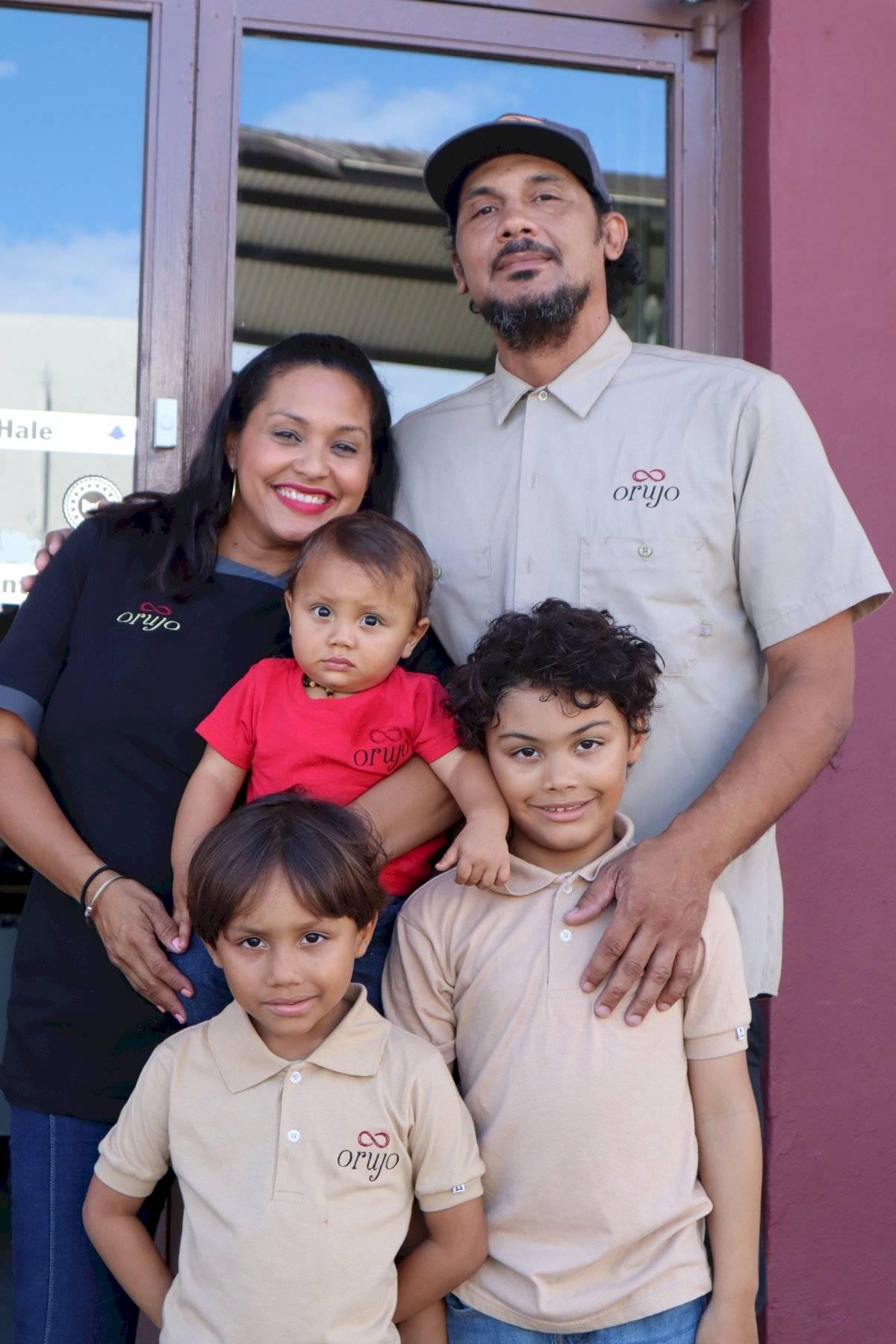 Orujo familia Carlos Portela