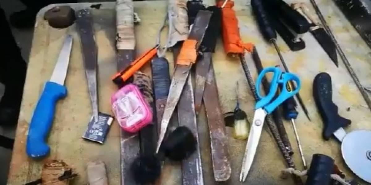 Catorce heridos dejó un motín en la Cárcel El Bosque en Barranquilla
