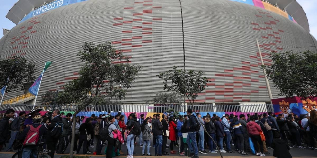 Poco público e instalaciones sin terminar; la otra cara de los Panamericanos