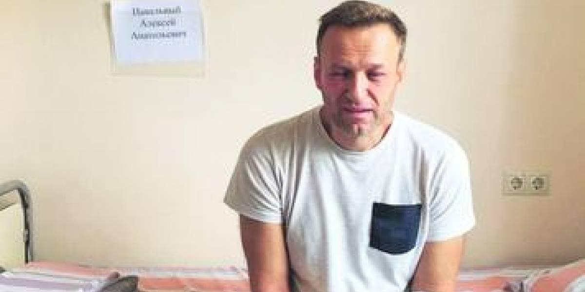 Líder opositor ruso habría sido envenenado en la cárcel
