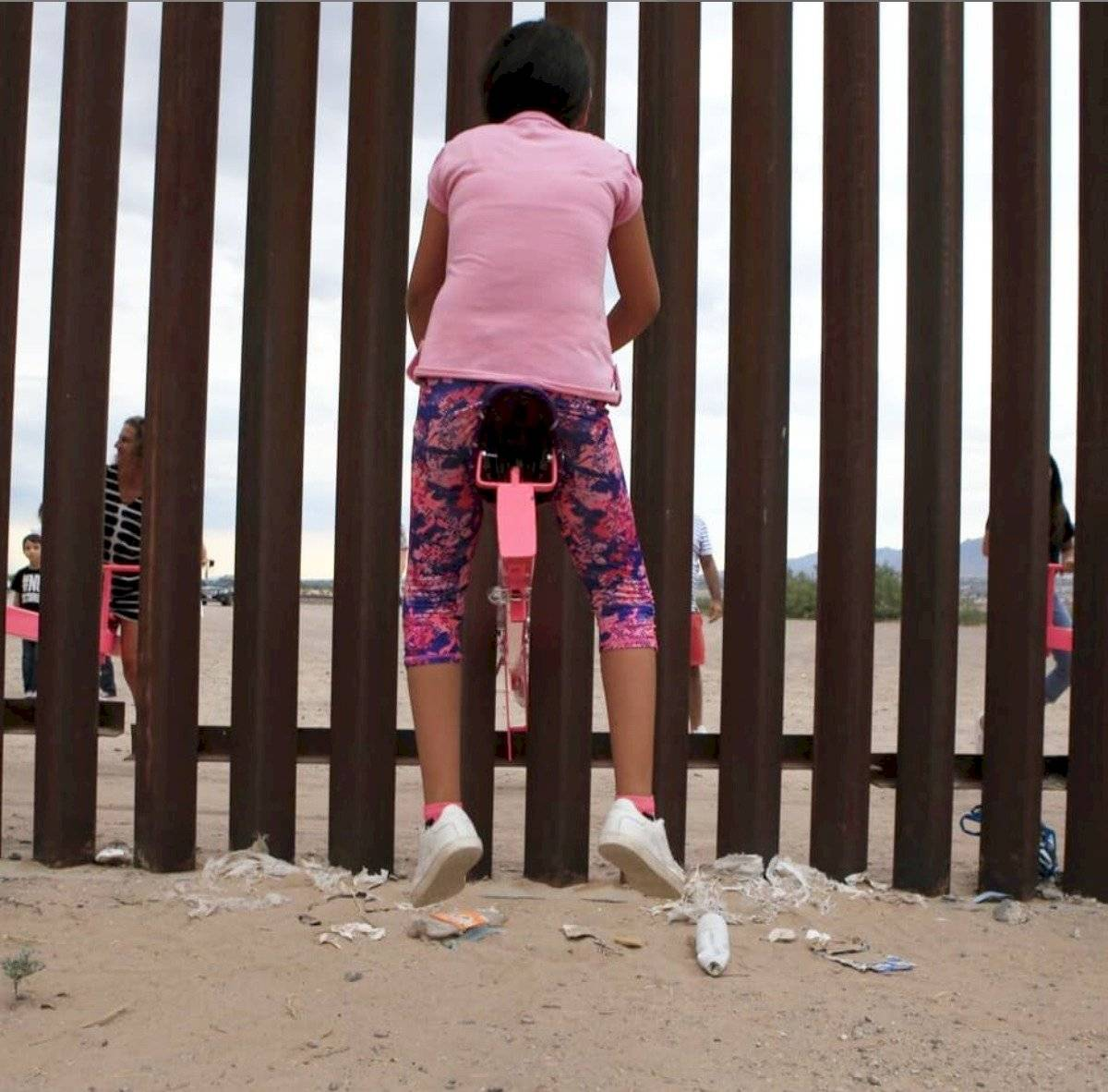 sube y baja en la frontera