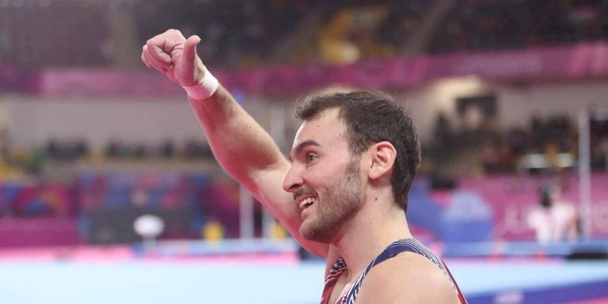 Tomás González agiganta su leyenda y se quedó con el oro en el suelo de la gimnasia de Lima 2019
