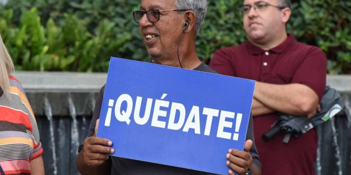 Convocan a manifestación a favor de la permanencia de Rosselló