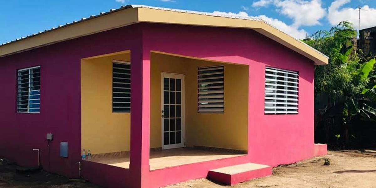 Fundación Ricky Martin logra entregar 130 casas rehabilitadas en Loíza