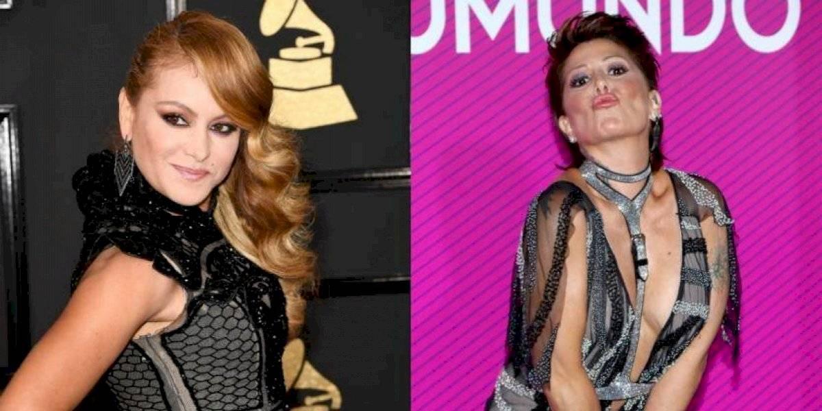 Alejandra Guzmán revela que peleó con Paulina Rubio por un famoso cantante