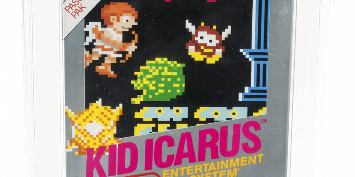 Encuentran una copia sellada de Kid Icarus en un ático