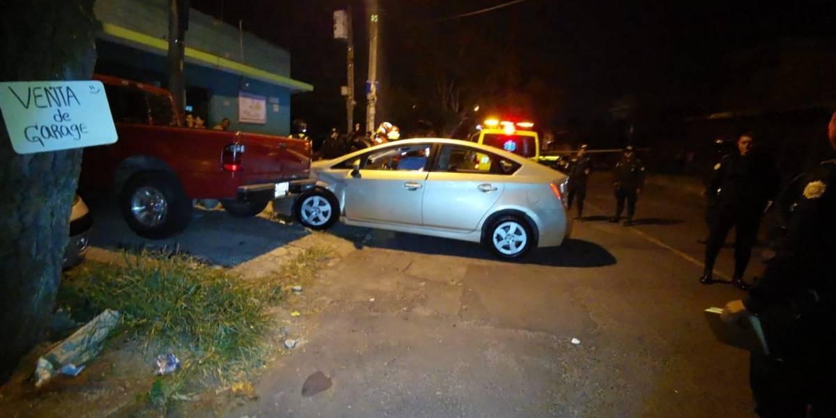 Balacera deja un fallecido en interior de vehículo en Montserrat 2