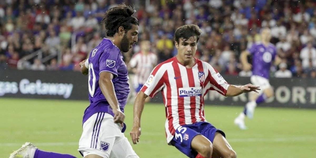 Herrera, Vela y Dos Santos se encontraron en el Atlético de Madrid vs MLS All Stars