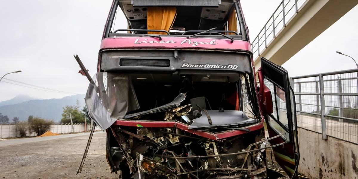 Se dictó orden de detención para dueño de la empresa: allanamiento en taller de Línea Azul encontró otro bus con patente clonada