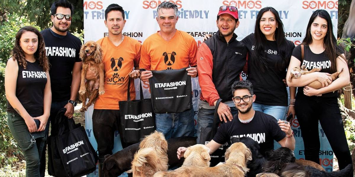 Etafashion apoya a fundaciones de rescate animal