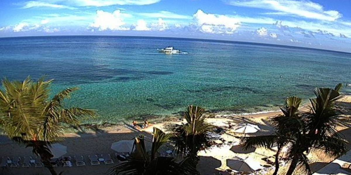 Estas son las playas del Caribe mexicano libres de sargazo