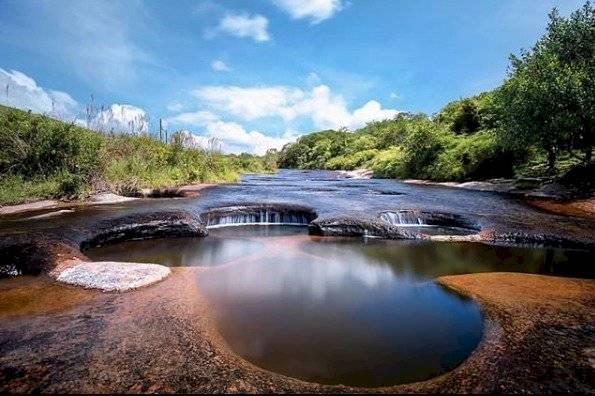 Este es el segundo río de colores que hay en Colombia y pocos conocen