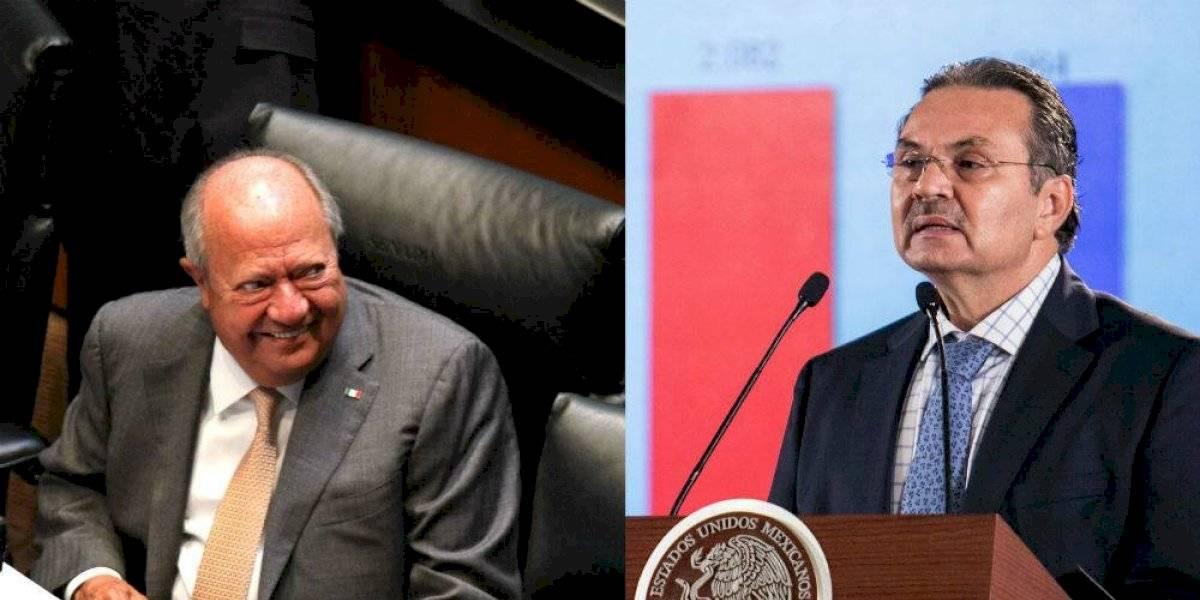 Carlos Romero y Octavio Romero negocian contrato colectivo de Pemex