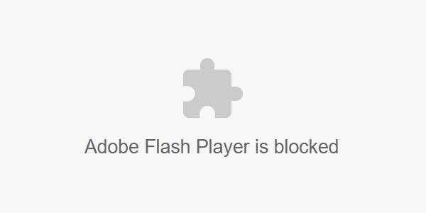 Google Chrome 76 está aquí: Adobe Flash viene bloqueado por defecto