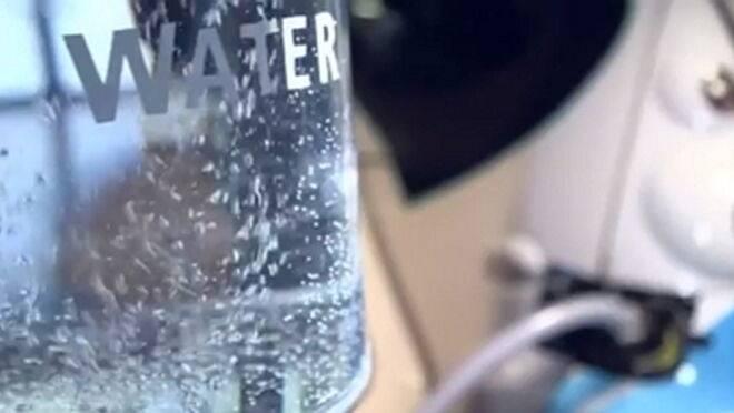 Agua batería
