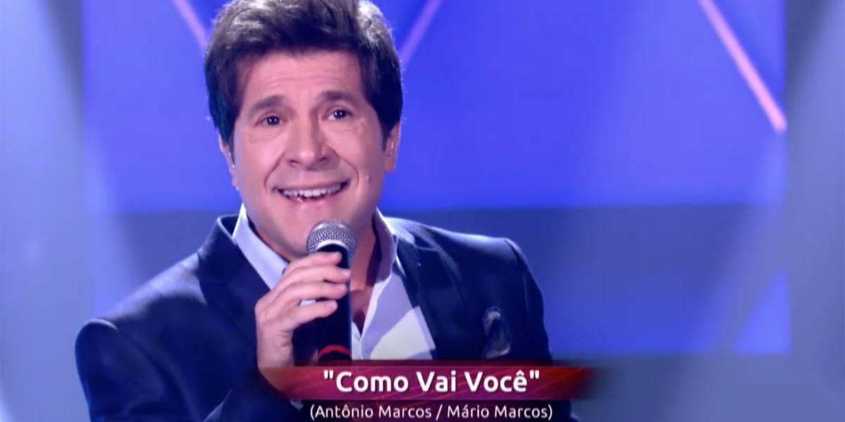 Daniel participa do 'The Voice' como cantor e surpreende jurados