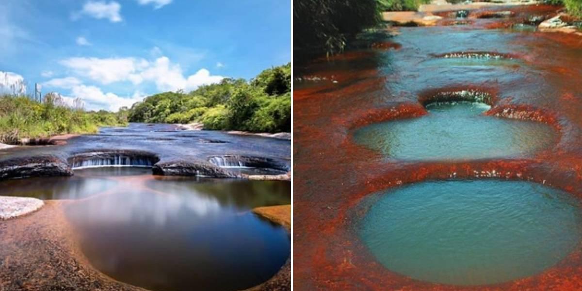 ¡No es caño cristales! Este es el segundo río de colores que hay en Colombia y pocos conocen