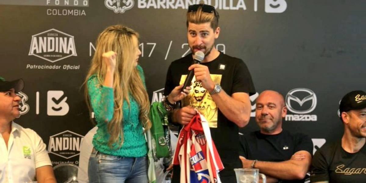La carrera que protagonizará Peter Sagan en noviembre en Barranquilla