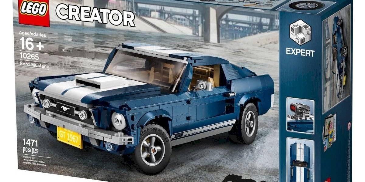 El Ford Mustang, ahora al alcance de la mano en su versión Lego