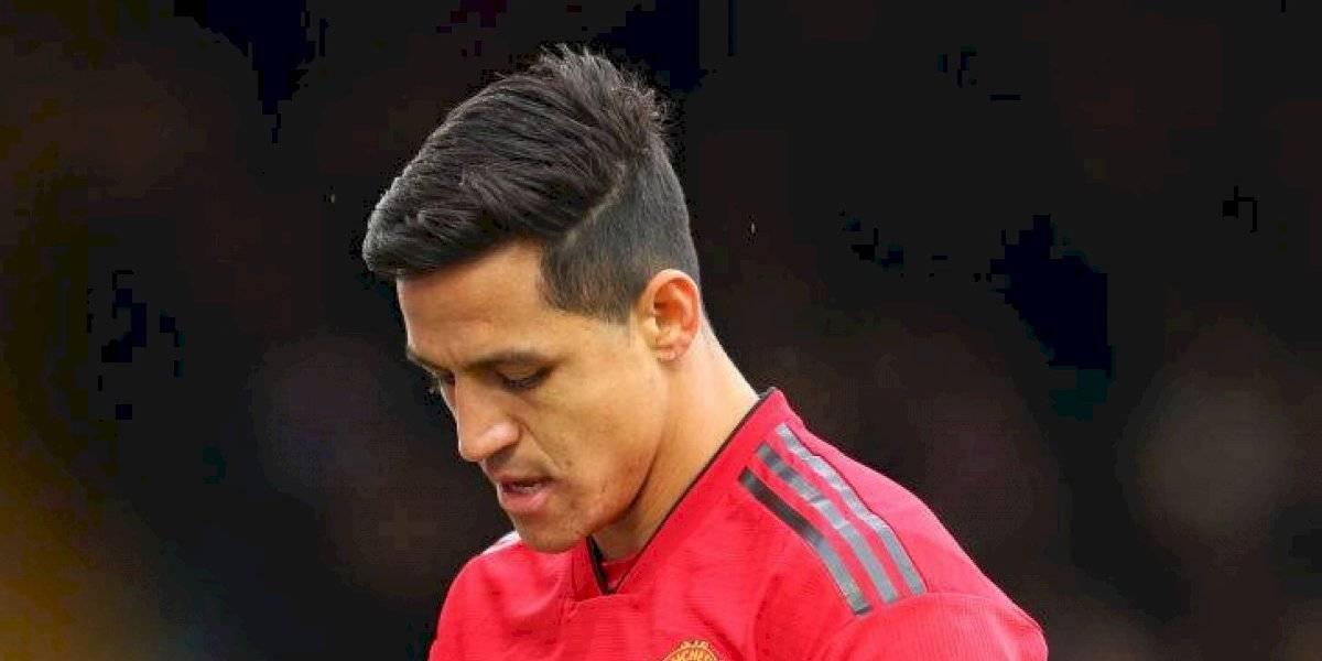 """""""La primera amarilla de la temporada"""": Alexis Sánchez recibió multa en su llegada a Manchester"""