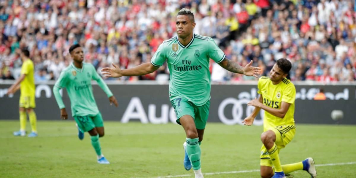 Real Madrid tuvo un respiro en su horrible pretemporada al vencer a Fenerbahçe de Mauricio Isla