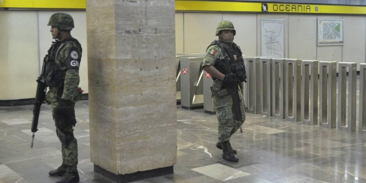 Presencia de Guardia Nacional en el Metro será itinerante: SSPC