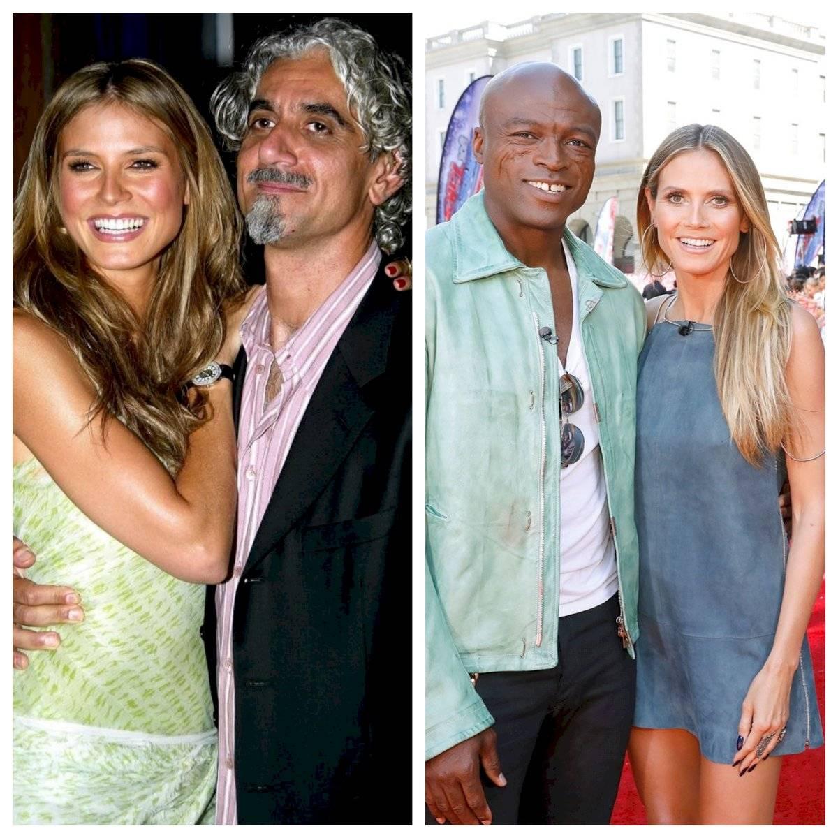 Heidi Klum y sus ex-esposos