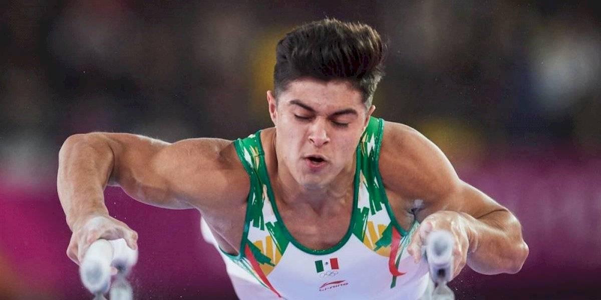 Isaac Núñez consigue histórico oro en barras paralelas