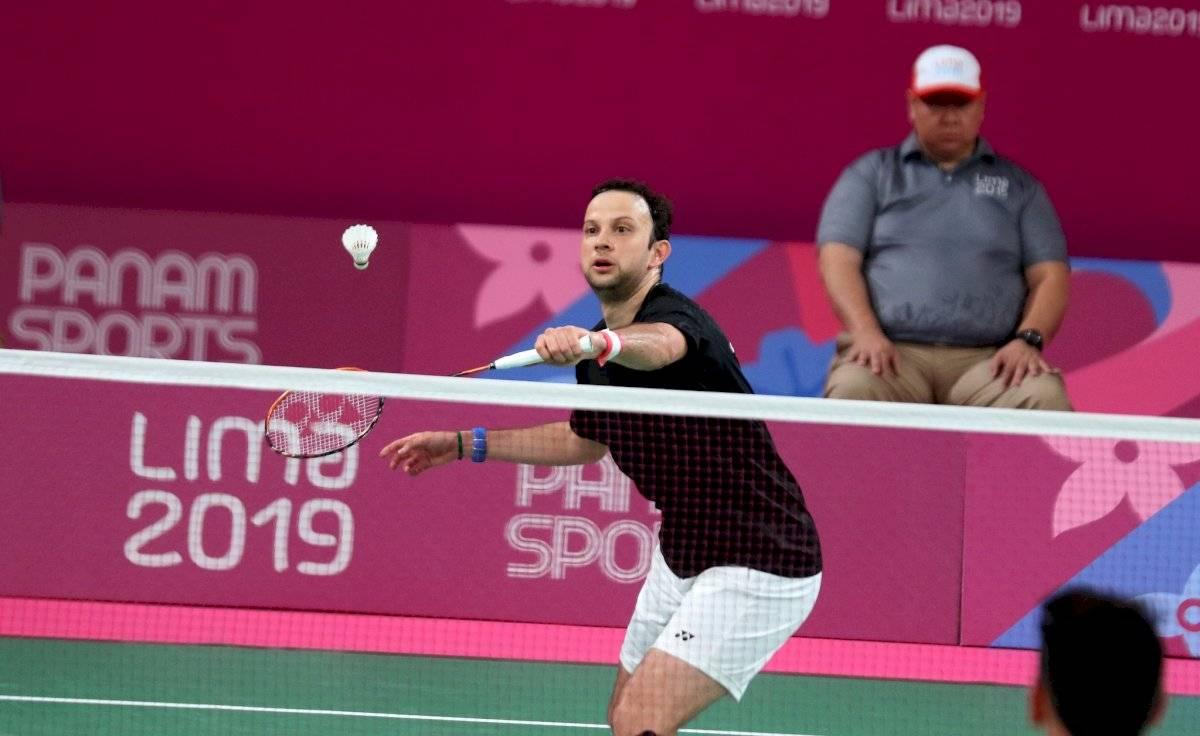 Kevin Cordón badmintonista guatemalteco
