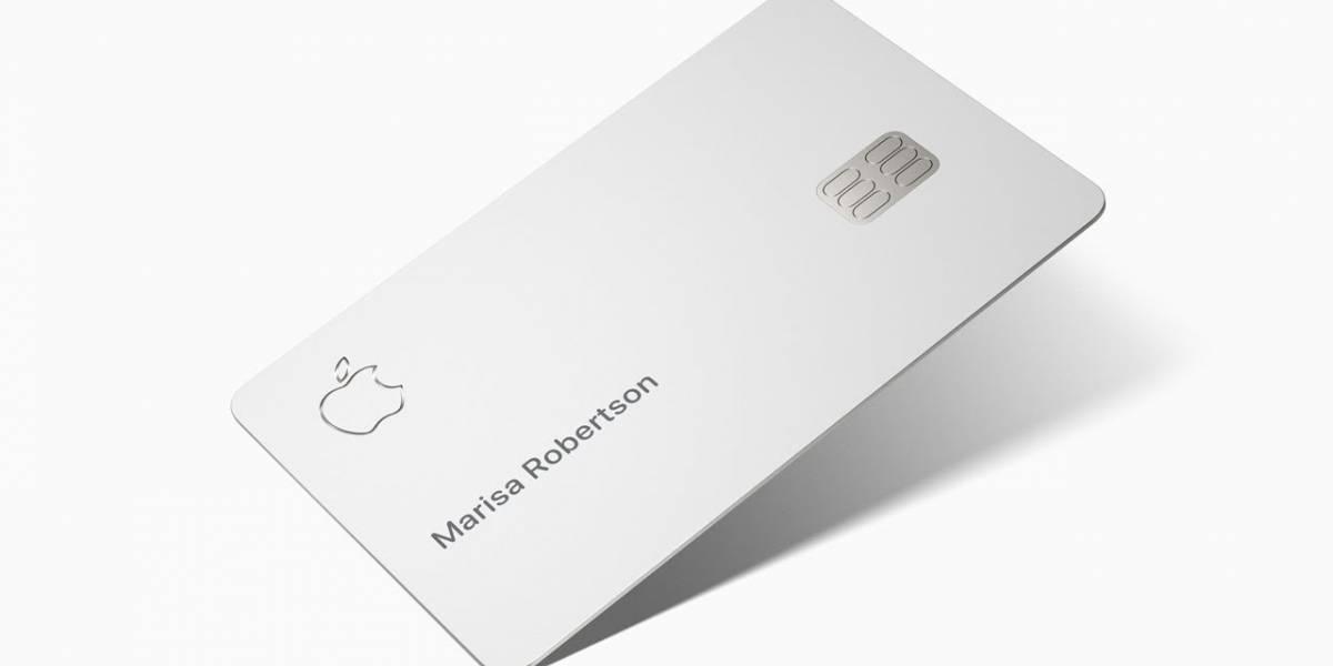 La tarjeta de crédito Apple Card se lanzará al público en agosto, confirma la compañía