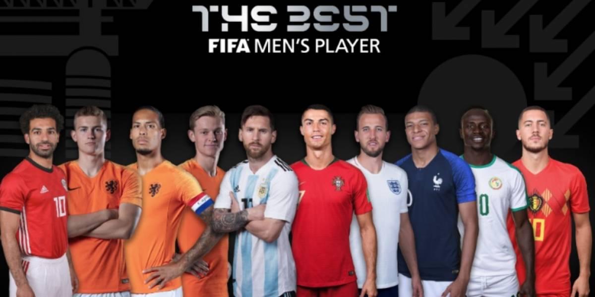 The Best revela lista de nominados a mejor jugador de la FIFA