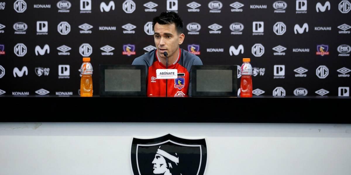 """Mouche asegura que Colo Colo puede alcanzar a la UC: """"Falta mucho todavía, le tengo mucha fe al equipo"""""""
