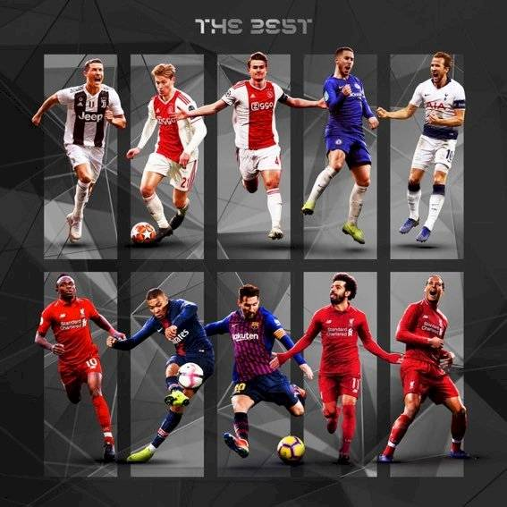 Real Madrid fuera premios The Best