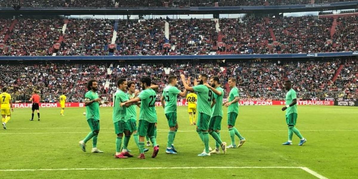 Bale le dice adiós a China y Madrid gana por primera vez en la pretemporada