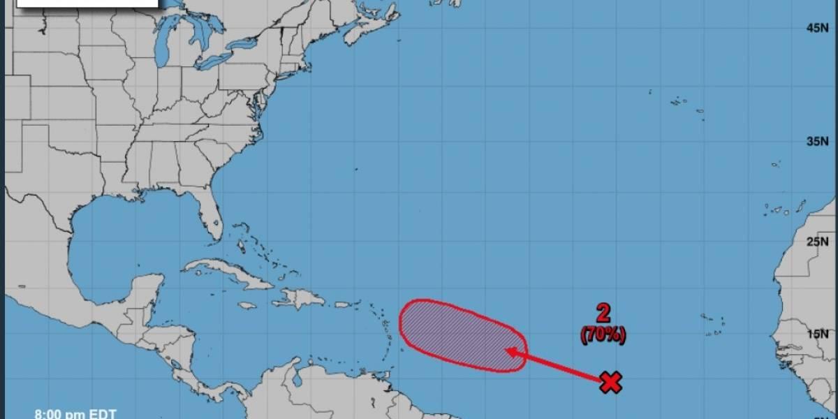 Onda Tropical se sigue desarrollando en el Atlántico