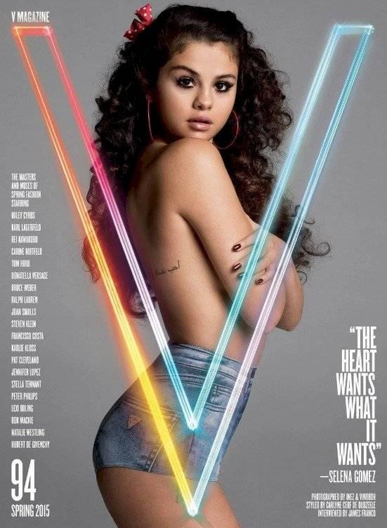 Se filtra sensual foto de Selena Gomez totalmente cambiada ¿y en topless?