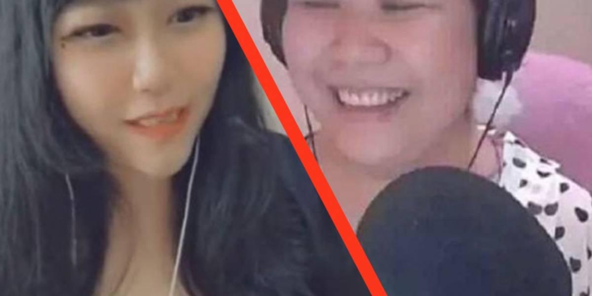 Durante un streaming se revela la verdad de esta chica en China