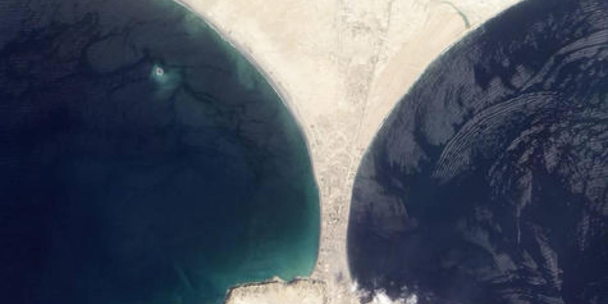 Desaparece isla formada por un terremoto