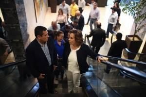 Sandra Torres y Carlos Raúl