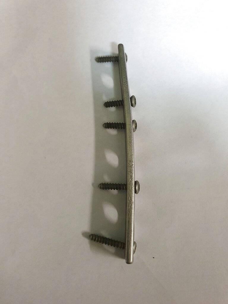 placa ortopédica