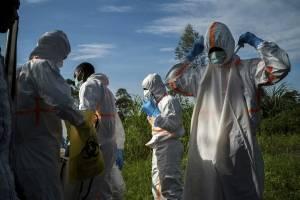 Combate al Ébola en África