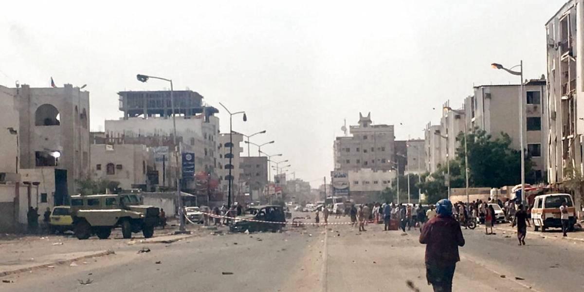 Atentados suicidas y ataque con misiles dejan más de 50 muertos en Yemen