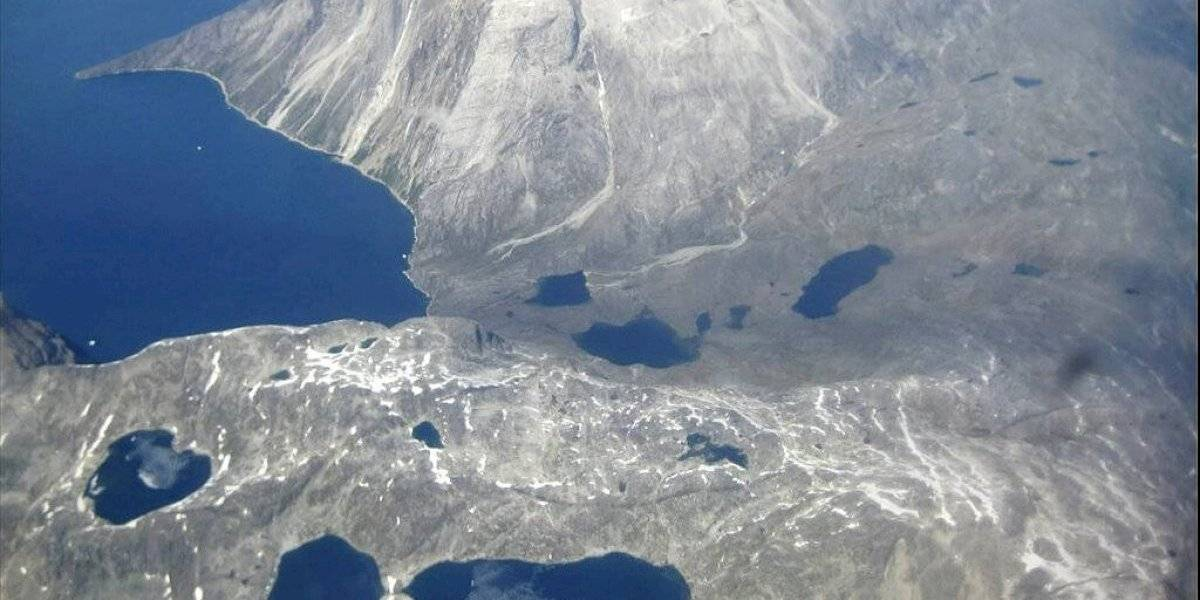 Groenlandia sufre derretimiento por fuerte ola de calor