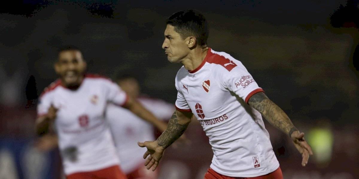 Independiente pasó a cuartos de la Sudamericana con otro gol del Tucu y el adiós del Gato