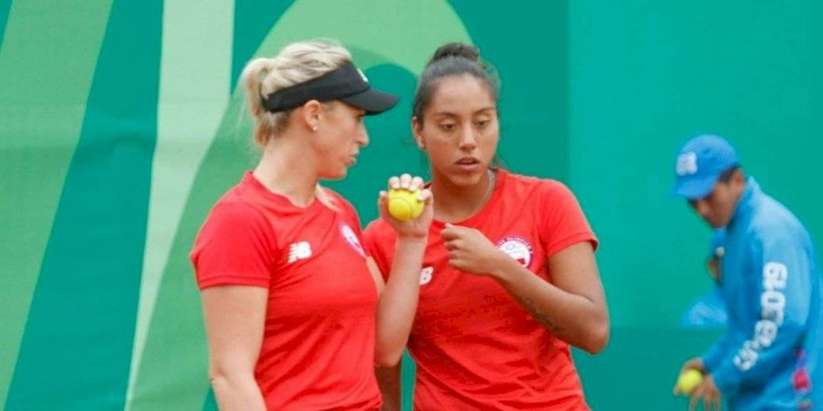 Seguel y Guarachi ganaron y se aseguraron luchar por medallas en el dobles del tenis panamericano