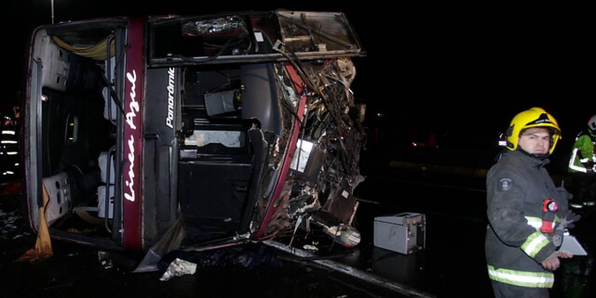 Tras accidente que dejó seis muertos en Mostazal: cancelan permisos de operatividad de buses de Línea Azul y allanan sus talleres por irregularidades