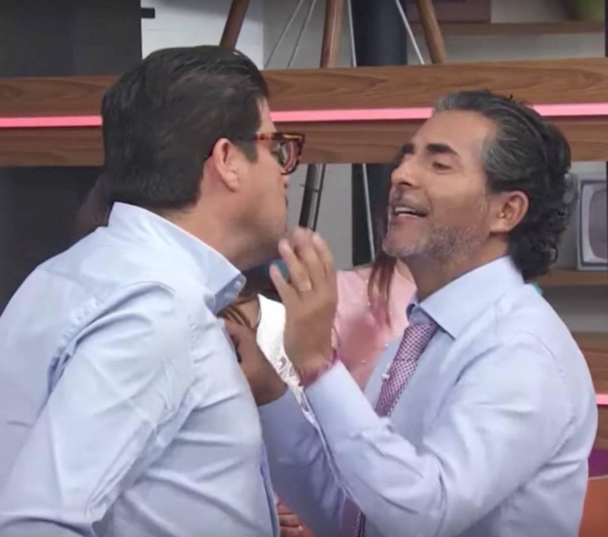 """Los conductores de """"Hoy"""" no pudieron contenerse Especial"""