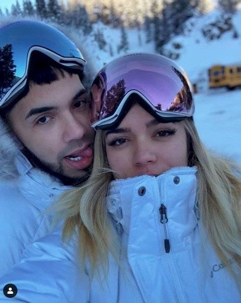 Karol G y su novio Anuel Instagram